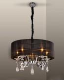 PP-DESIGN PPZ2022/5 BLACK LAMPA WISZ�CA E14/5X40W
